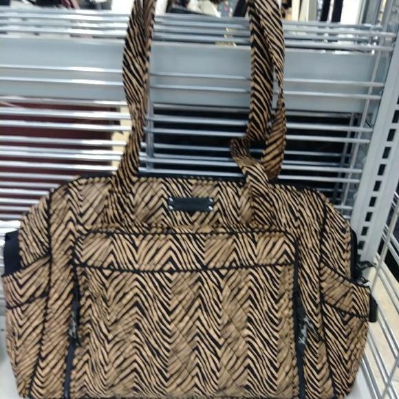 Vera Bradley New Zebra Stroll Around Baby Bag 53172e7747c0e